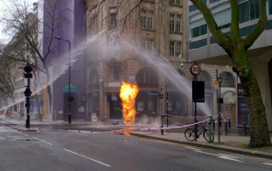 Holborn Gas Fire