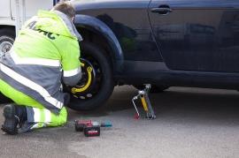 Roadside Assistance, Flat Tyre